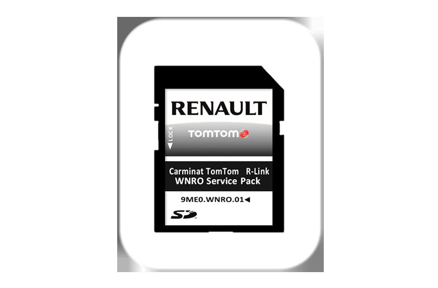 Carte SD de mise à jour logicielle pour Carminat TomTom en vue du WNRO