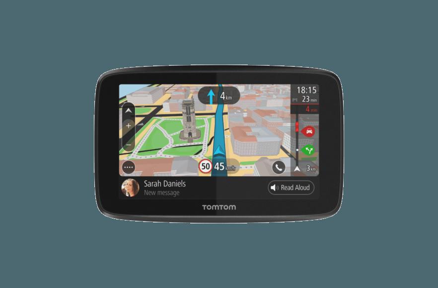 Siri /& Google Now Traffic a Vita da Smartphone e Mappe UE Navigatore TomTom GO Essential GPS 6 Pollici Chiamata in Vivavoce Messaggi dello Smartphone Aggiornamenti Tramite Wi-Fi