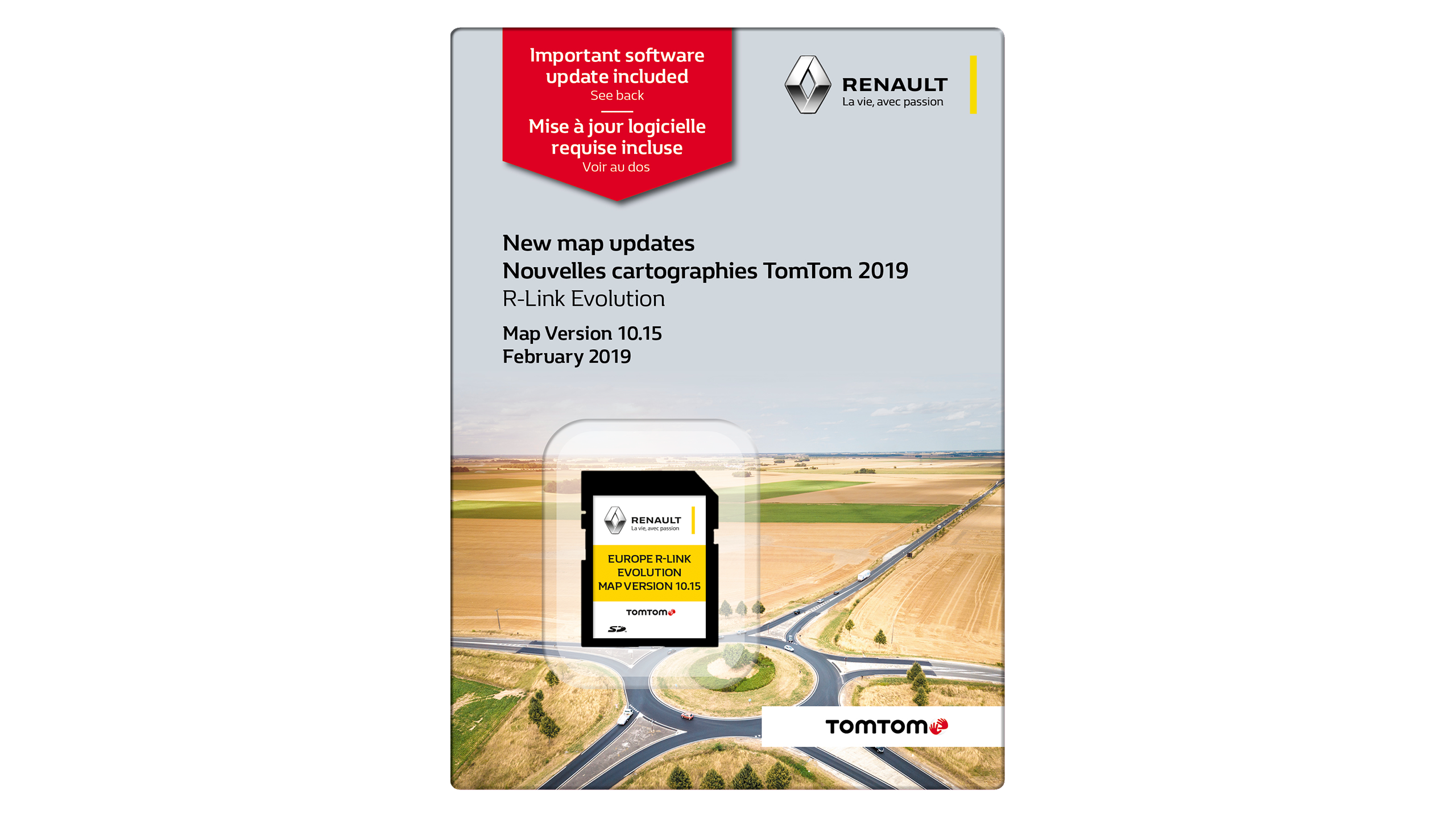 latest tomtom europe map version R LINK Evolution | Europe Map on SD Card