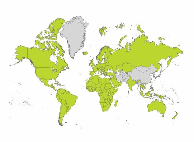 Cartina Geografica Europa In Italiano.Negozio Delle Mappe Di Viaggio Tomtom