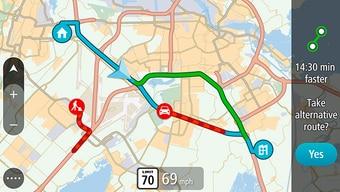 Doživotno TomTom promet