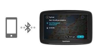 Servicios TomTom a través de smartphone