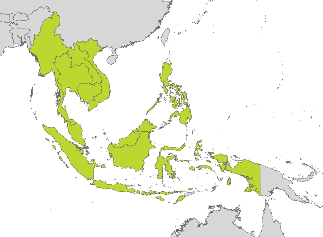 Tomtom Map Of Eastern Us And Canada Map of Southeast Asia | TomTom