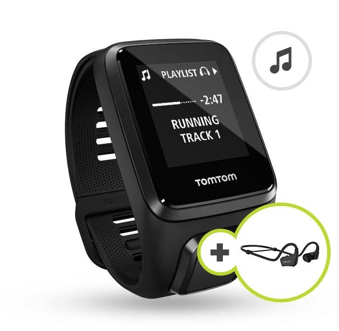 TomTom Spark 3 Music + Headphones