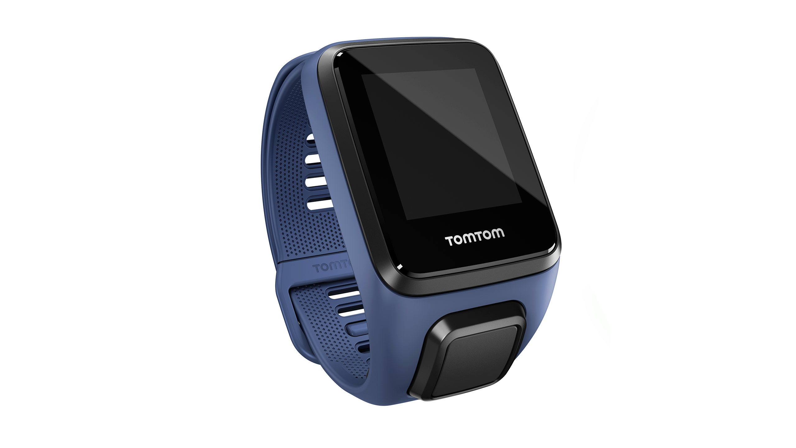 TomTom Runner 3/Spark 3 Watch Strap (Dark Blue - Large)