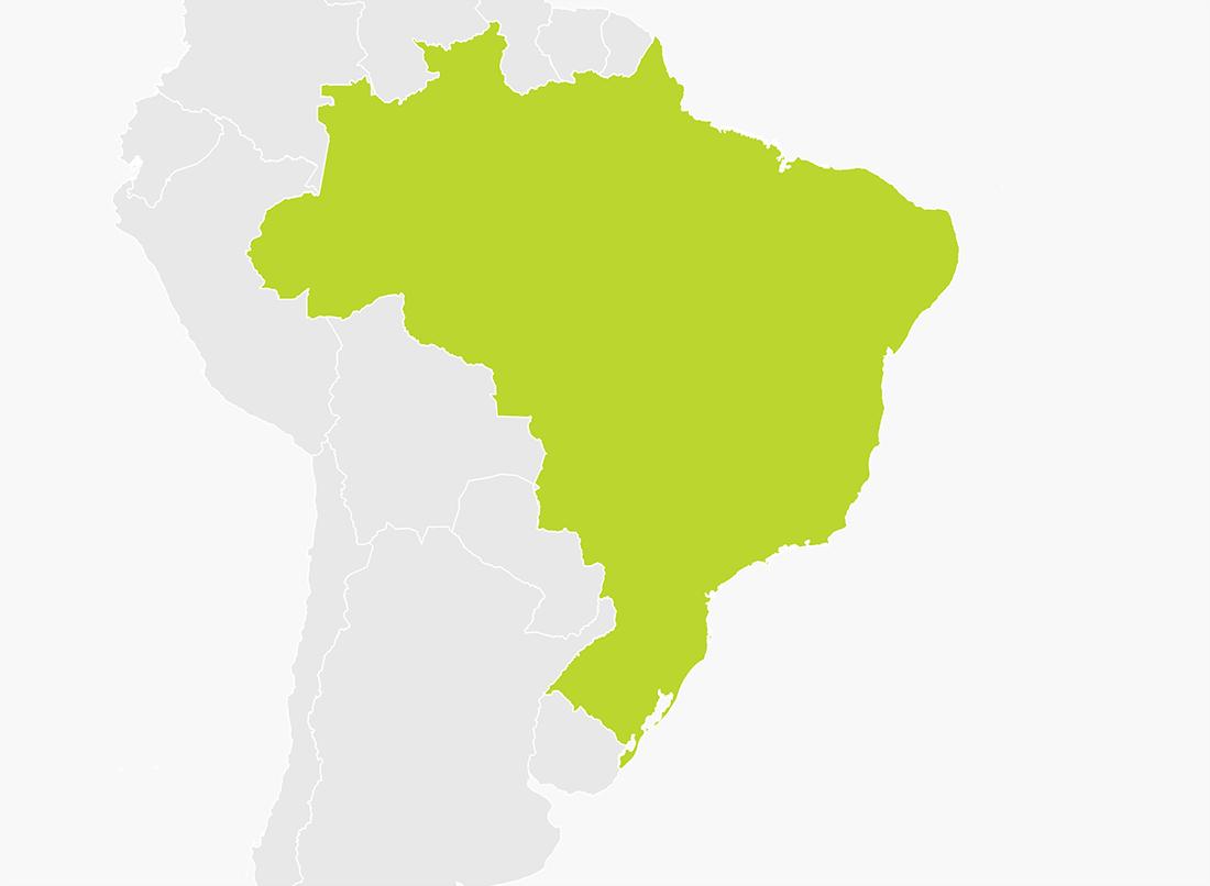 Map of Brazil | TomTom