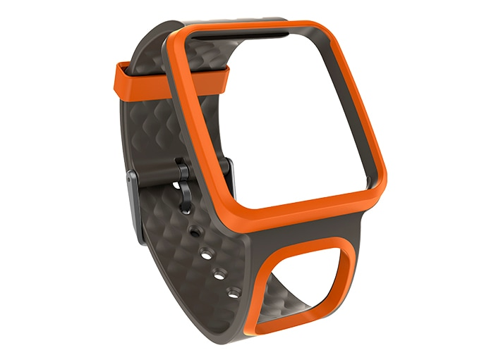 bracelet de montre gps orange