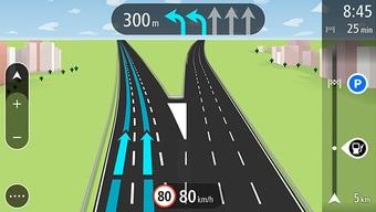 Advanced Lane Guidance